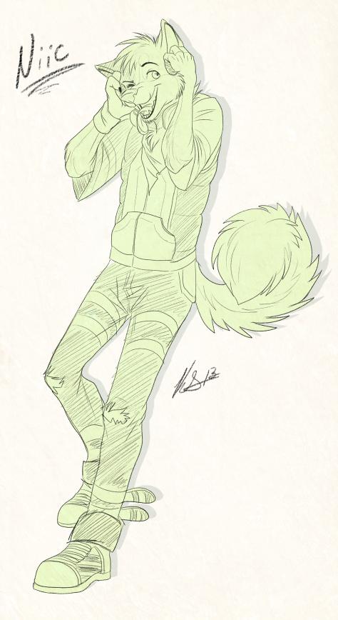 Sketch by Keji