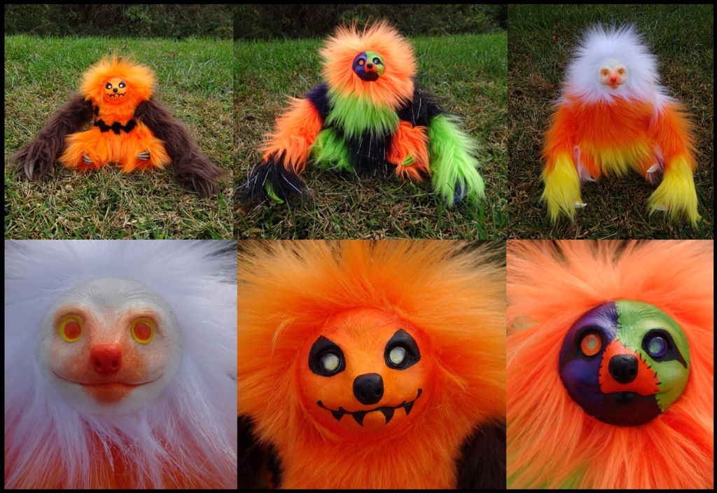 Halloween Sloths
