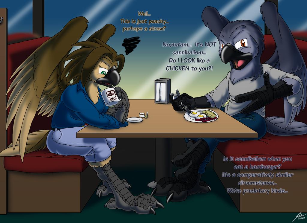 Bird World Problems: Dining