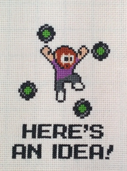 Here's an Idea! (Cross-Stitch)