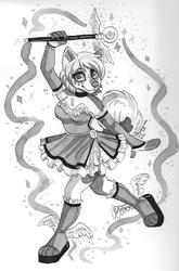 Inktober Day 11: Magical Girl