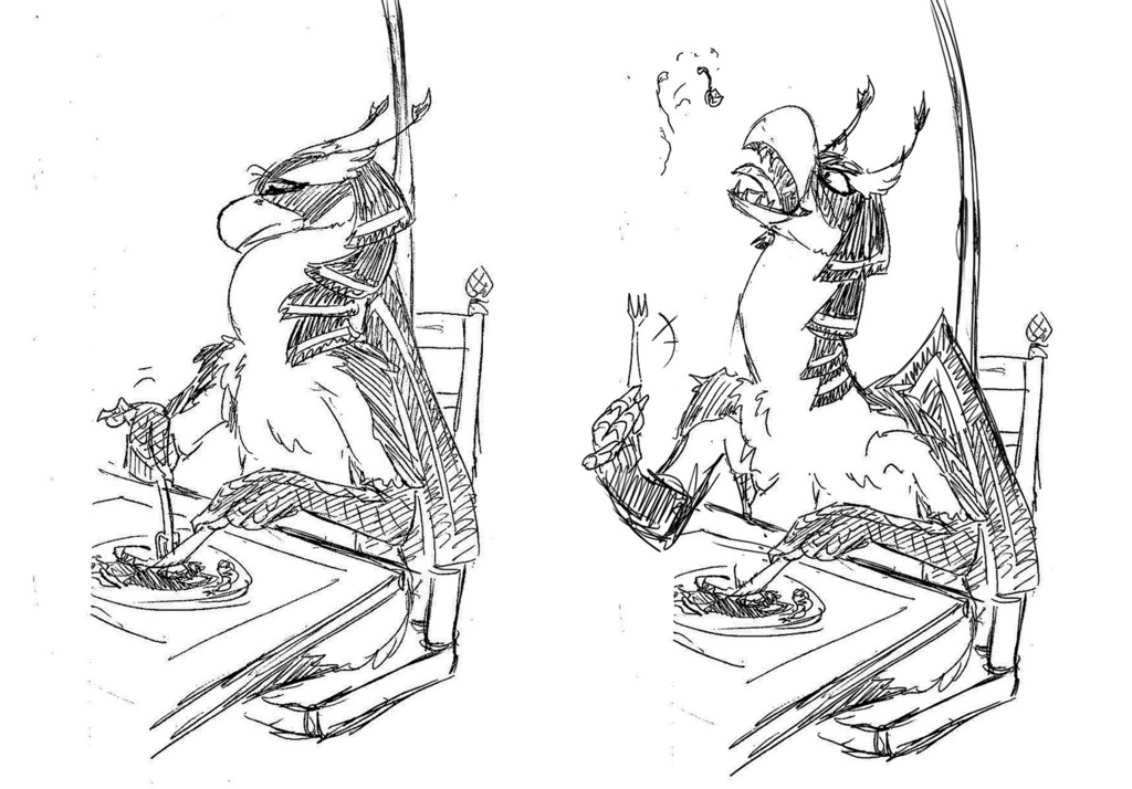 Rozen!Vik - Space Raptor Table Manners