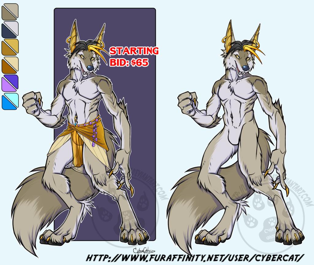 Stylish Wolf  Adoptable Starting bid :$65