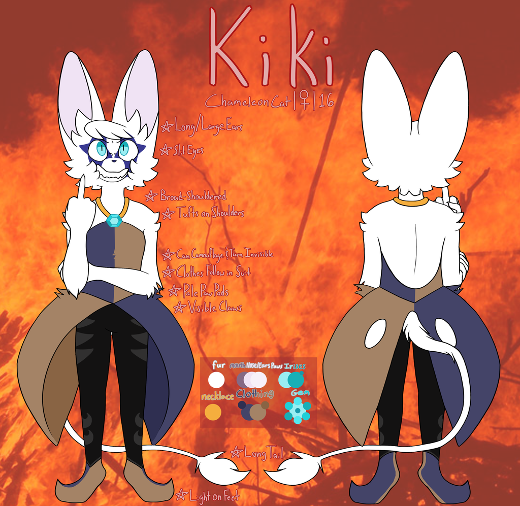 Kiki Evil/Alternate [Reference]