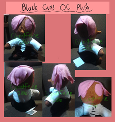 Black Cupid Oc Plush