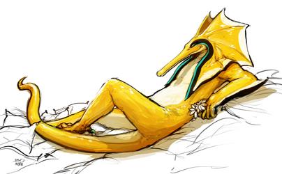 Sketch - Pim Resting