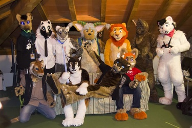 [IFH 1st Blood!] Fursuits groupshoot