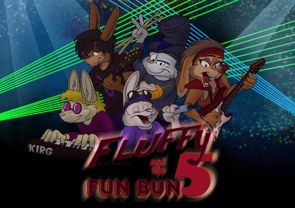 Fluffy and the Fun Bun 5