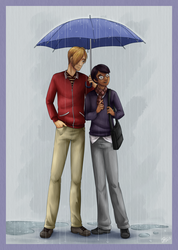 Vincent and Teddy - BFF Fanart