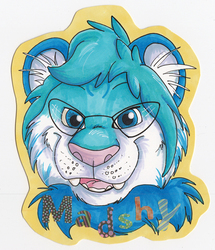 Headshot Badge - Madshy