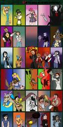 [Gigantic Ass Meme] Favorite Characters