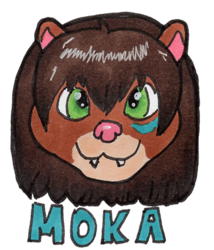 Moka Mini Badge