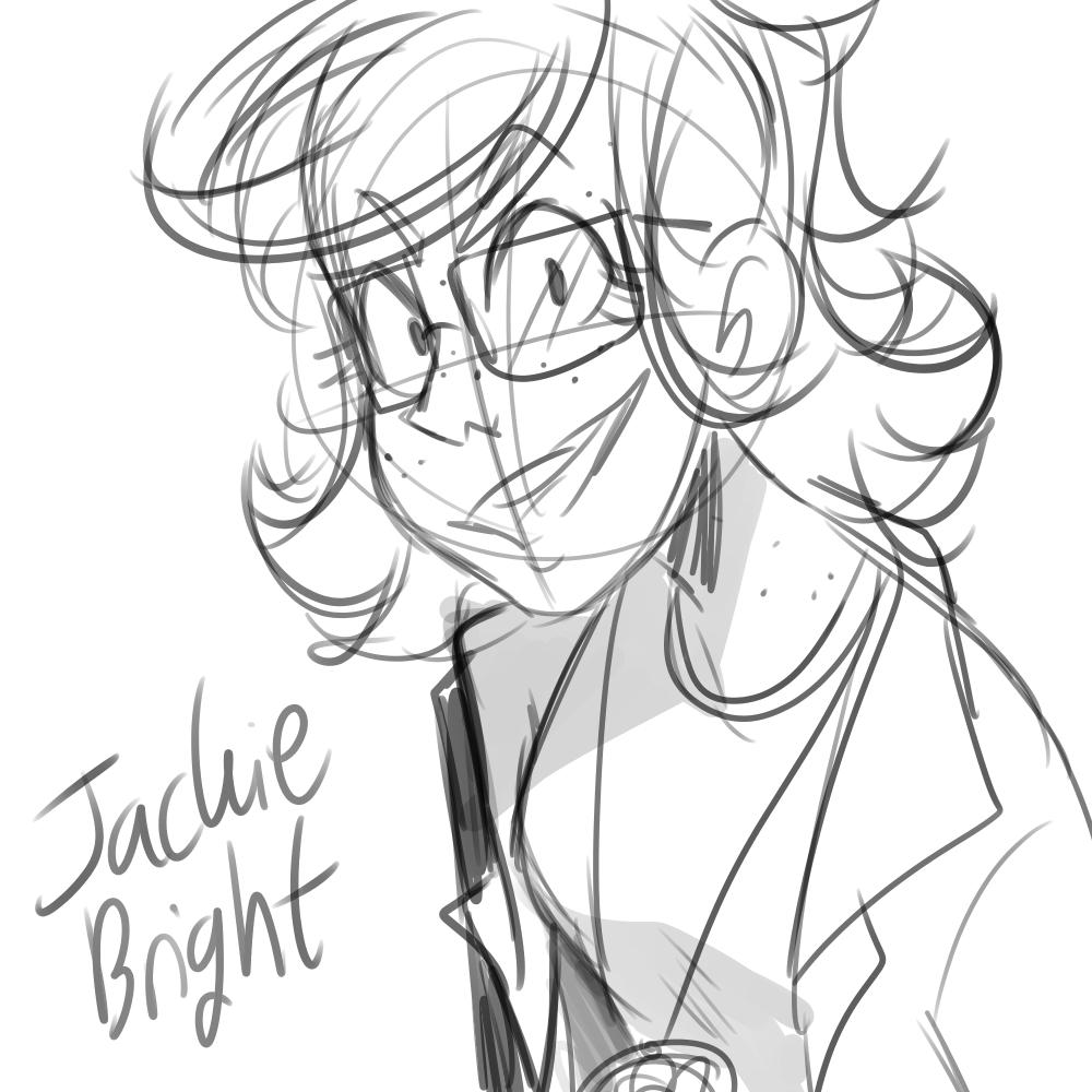 Jackie Bright [Genderbent!Jack Bright]