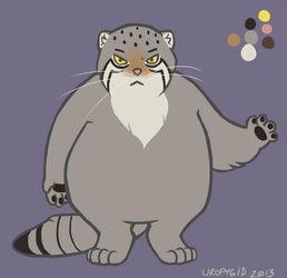 pallas cat design