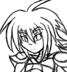 Art Challenge 10 - Kuro in Armor