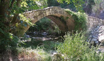 medieval bridge at Kilani Cyprus