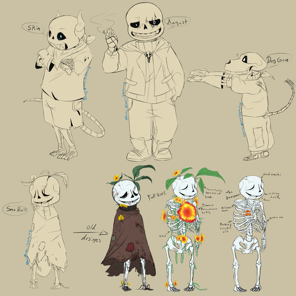 Some Cool Skellies (FMN)AU