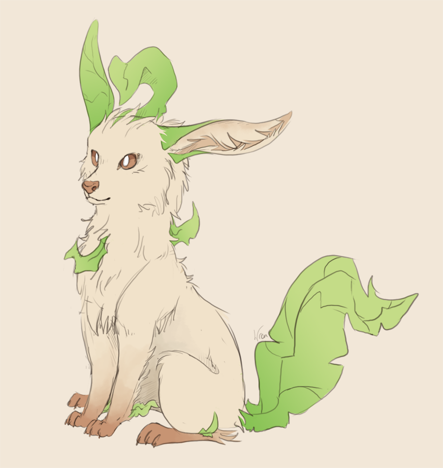 Most recent image: Leafeon Sketch