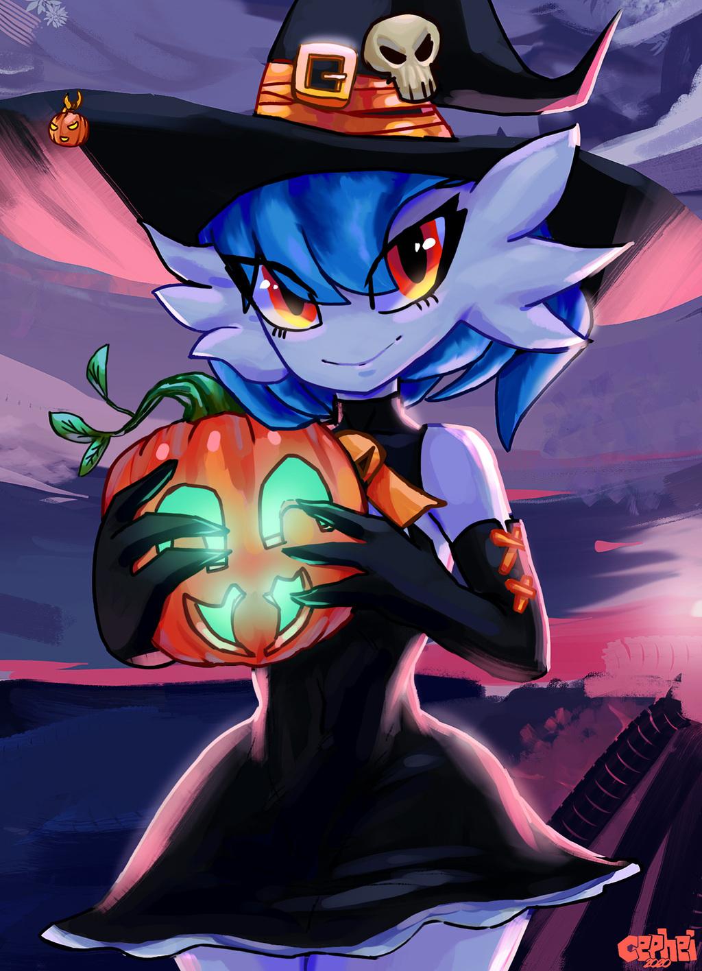Gardevoir Halloween Greetings