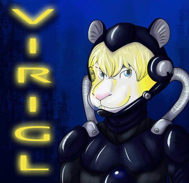 Halloween Badge -Virgil Jaeger Pilot-