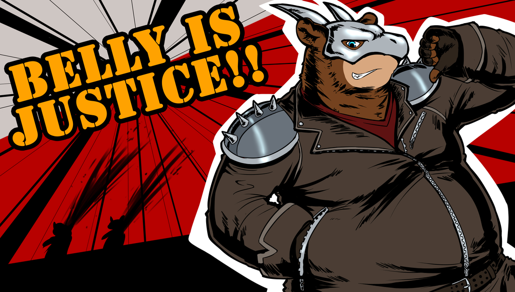 Belly is Justice!!