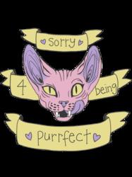 Purrfect (shirt design!!)