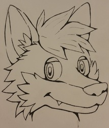 Ink Headshot: Gairne
