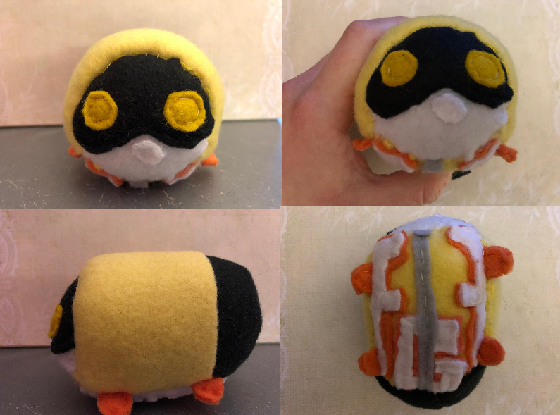 My Hero Academia Fat Gum Stacking Plush Commission