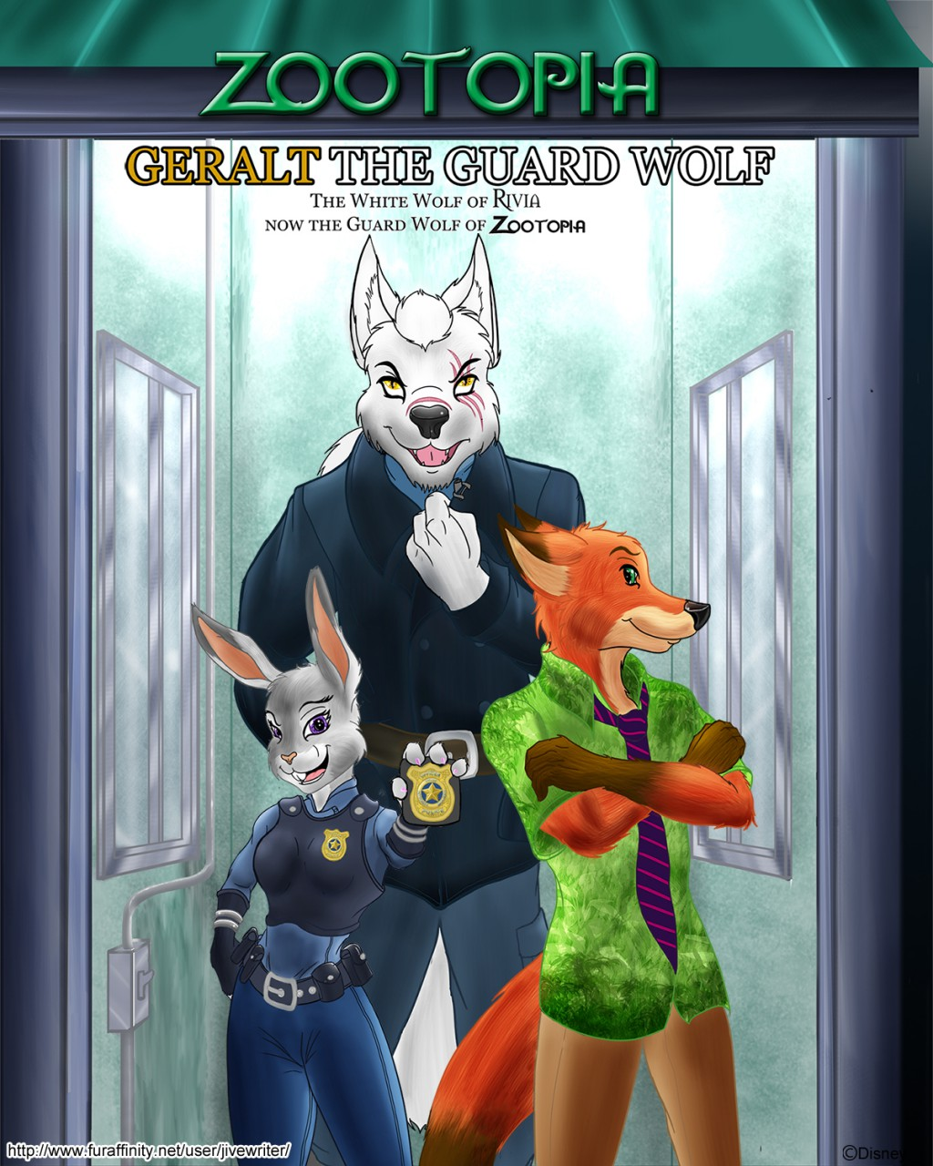 Zootopia - Geralt The Guard Wolf