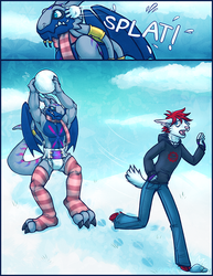 Snowball Fight - by xainy