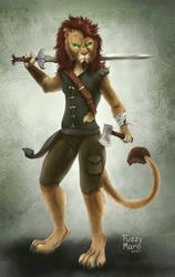 The Lion adventurer