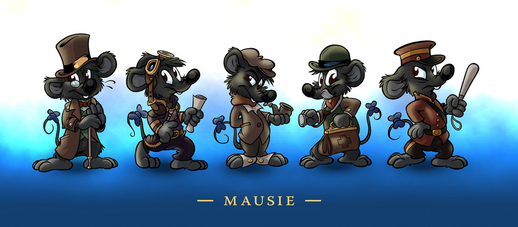 NFC 2014 Badges : Mausie