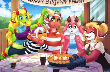 Fruity birthdaybash