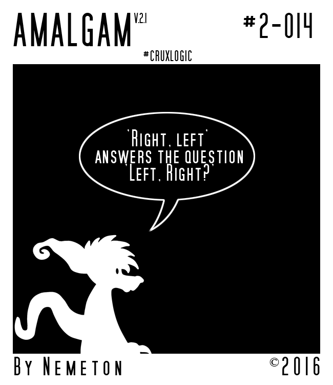 Most recent image: AmalgamV2 - #2-014 - Downside Up
