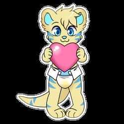 Heart Soggy Telegram Sticker
