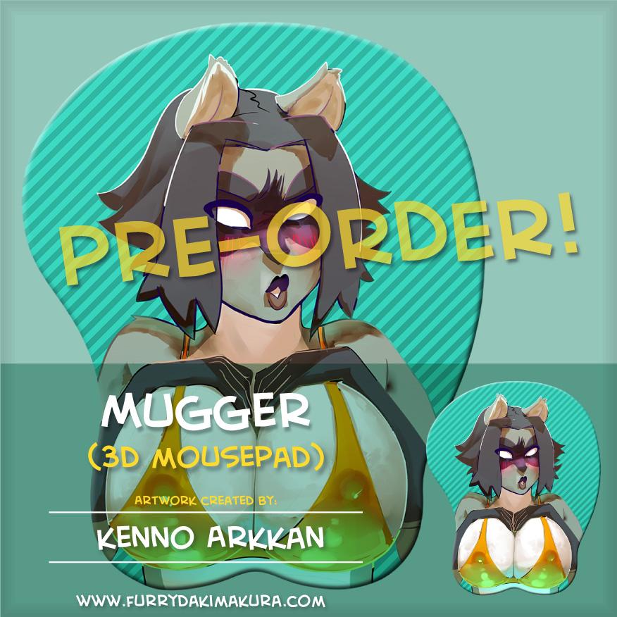 Mugger 3D Mousepad