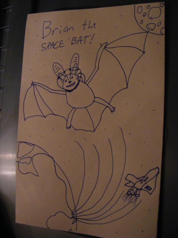 Brian the Space Bat