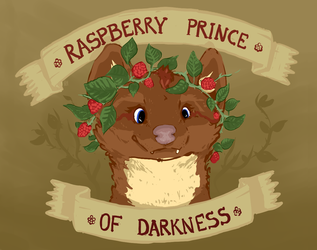 Raspberry Prince (of Darkness)