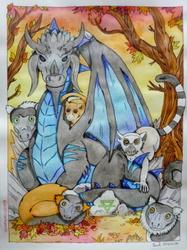 Le Dragon et les garnements ...