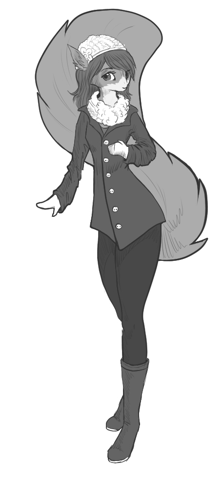 Sketch commission - Oonami - Ami