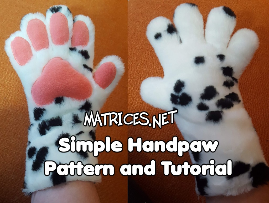 Most recent image: Tutorial & Pattern: Simple 5-digit handpaws!
