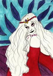 Queen Hel portait