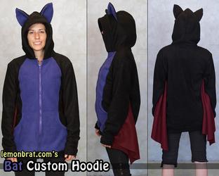 Bat Custom Hoodie