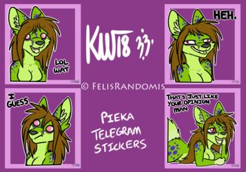 Pieka Telegram Stickers