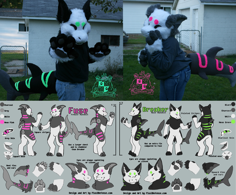Manokit suits and characters for sale!
