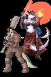 Dark duo Souls