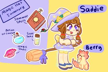 Saddie Summer Witch