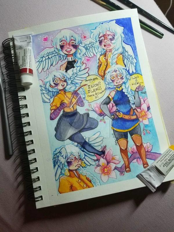 Chibi Character Study: Renee Pendragon