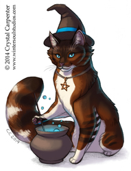 Witchy Kitties - Umbra