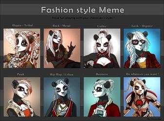 Shalinka Fashion style MEME <3